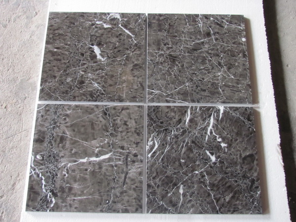 China Hang Grey Marlbe High Glossy Tiles